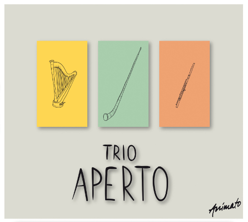 Stephanie Wunsch Trio Aperto CD Cover